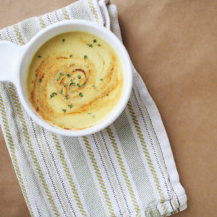 In the Kitchen: Creamy Cauliflower Detox Soup