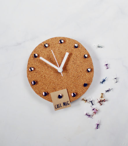DIY Cork Clock