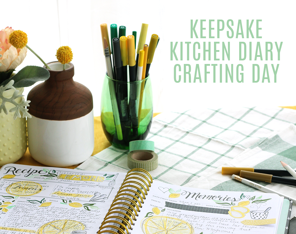 Crafting your favorite kitchen recipes - tips for a fun, creative day!
