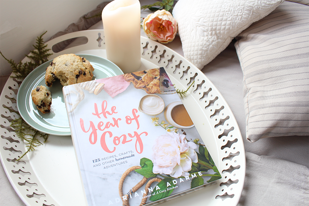 A Year of Cozy book review by Lily & Val - SO GOOD! We can't wait to begin the DIY's and recipe suggestions!