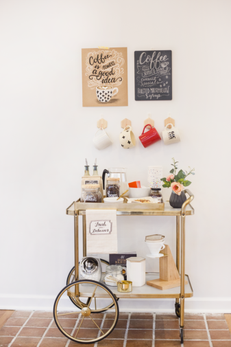How to Make Your Own Coffee Bar