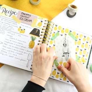 Crafting Your Keepsake Kitchen Diary