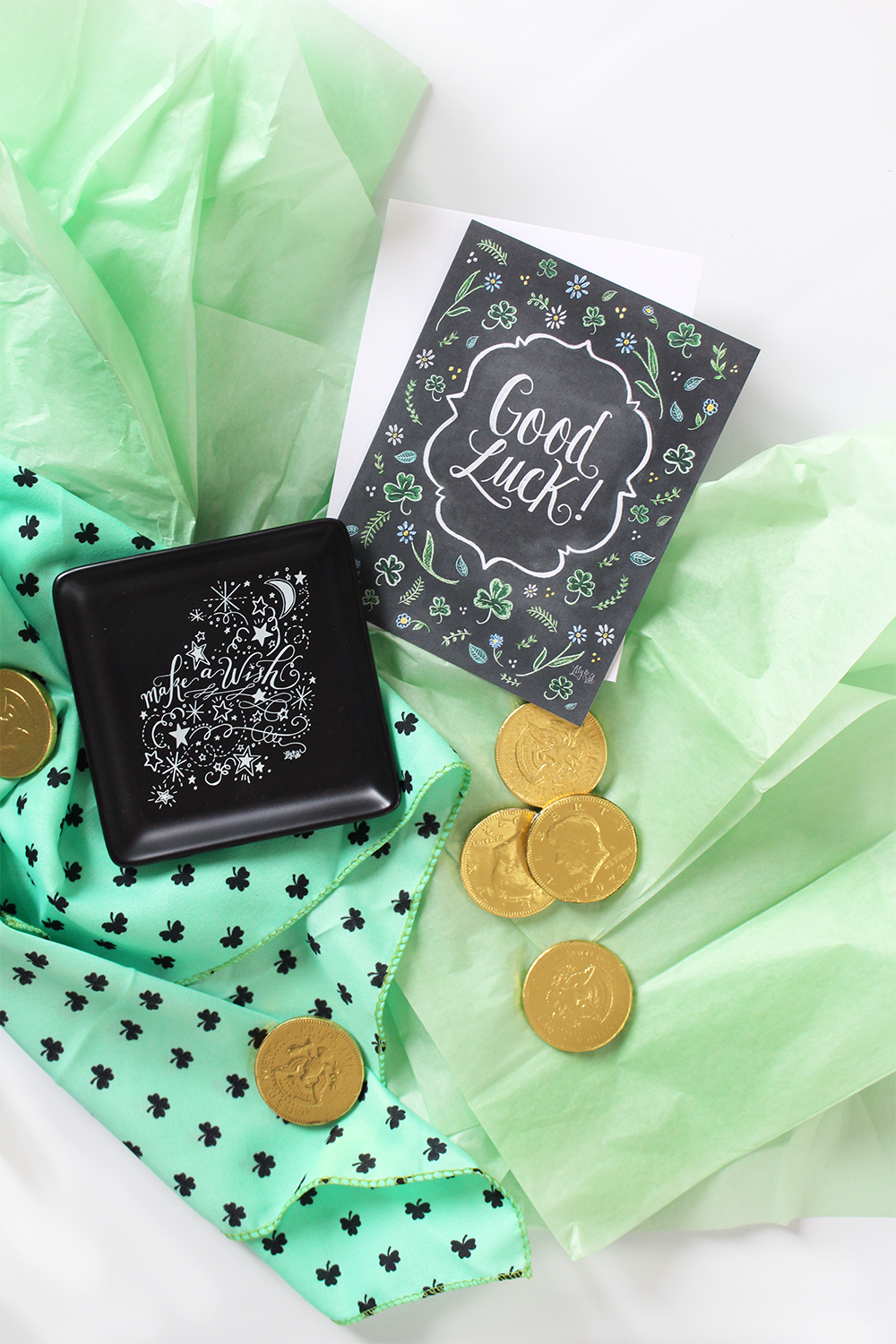 Wishing You Luck package | snail mail inspiration