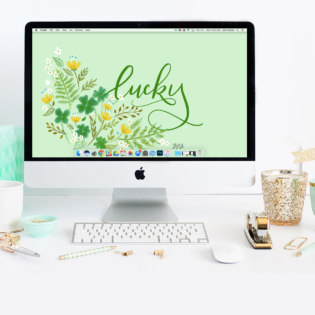 March's Lucky FREE Wallpaper Download
