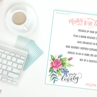 February Free Download | To-do List