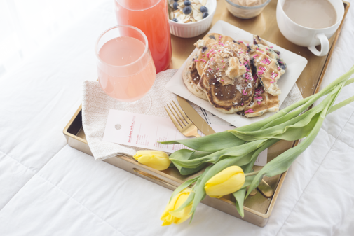 A Dreamy Breakfast in Bed for Your Valentine's Day