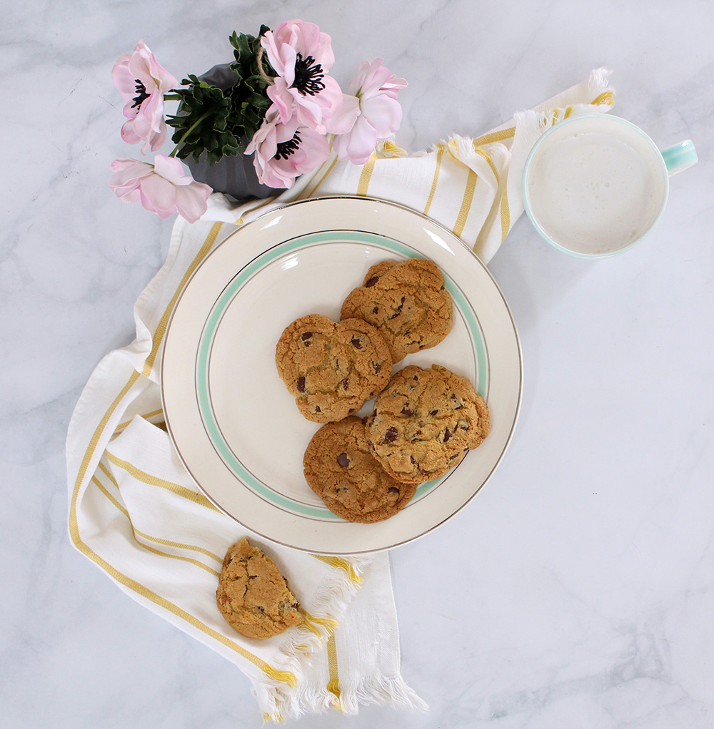 The Ultimate Gluten Free Chocolate Chip Cookies on Lily & Val Living