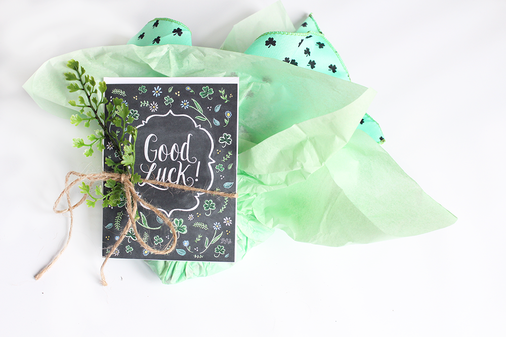 Wishing You Luck snail mail idea | good luck package | snail mail inspiration