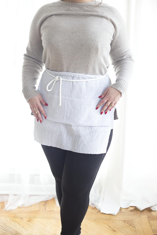 White apron joann fabrics -  No Sew Apron Diy Apron No Sew Diy