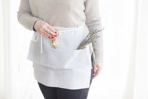 Make Your Own No-Sew Apron