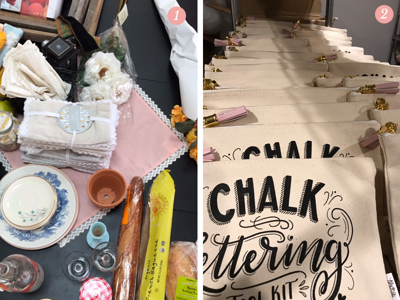 Pretty Ordinary Friday #42 blog features items for Lily & Val's new spring line photo shoot, chalk lettering tool kit pouches