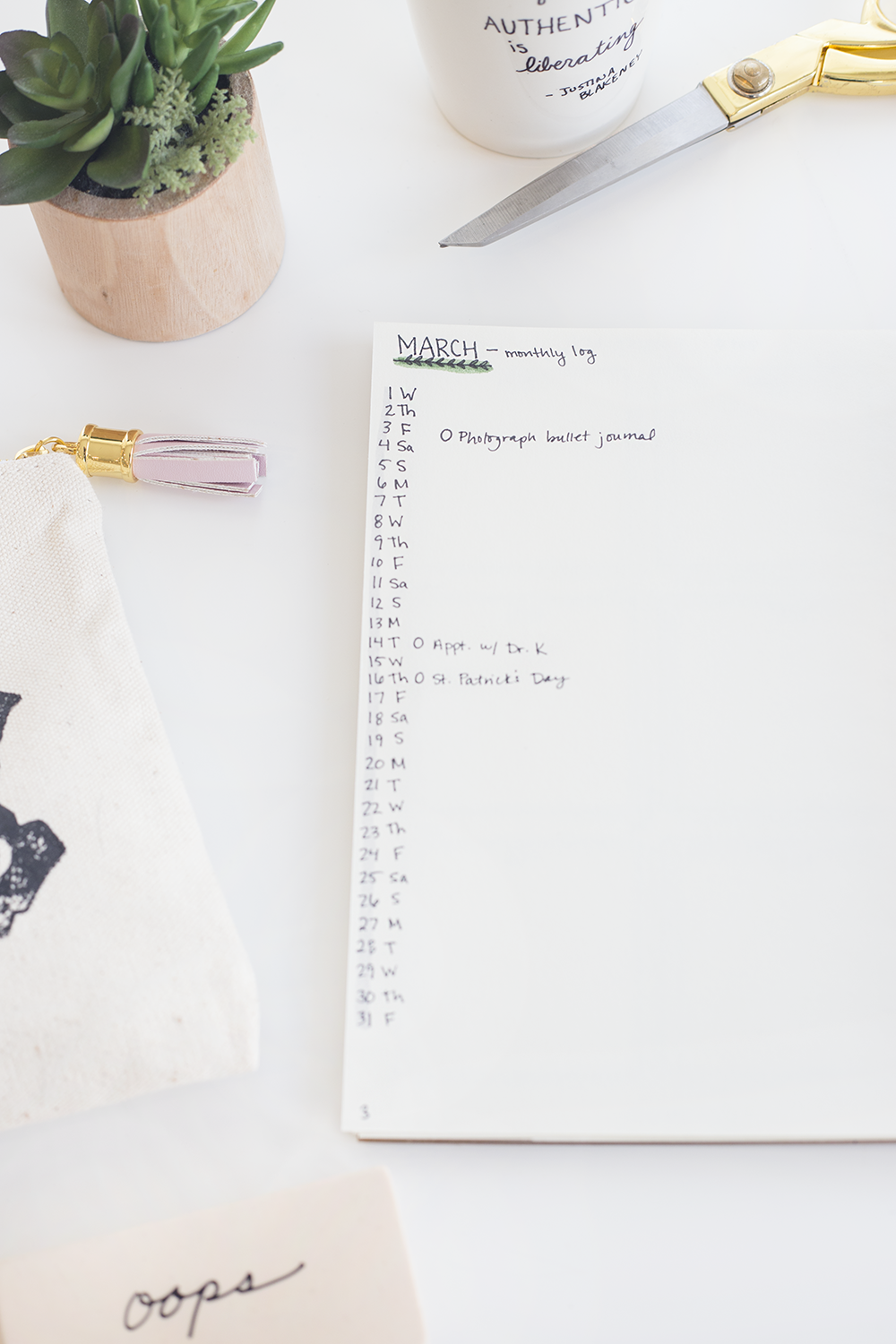 how to start a bullet journal | bullet journal ideas | planner inspiration
