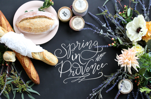 Inspiration Behind The 2017 Spring In Provence Print Collection