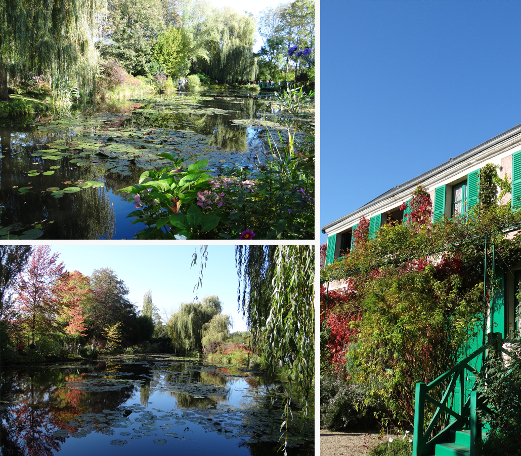 Monet's Garden in Giverny France, see more of the inspiration for the 2017 Lily & Val Spring Print Collection