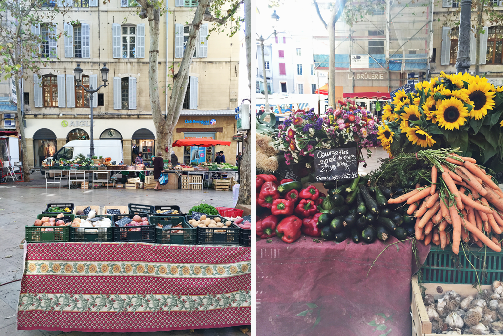 Farmers markets in Provence became part of the Inspiration Behind The 2017 Spring In Provence Print Collection