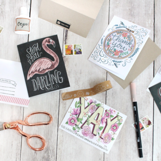 April Happy Mail – National Letter Writing Month
