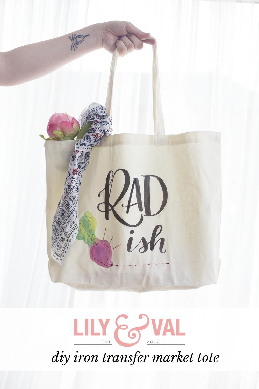 diy farmer's market tote | diy market tote | embroidered tote bag