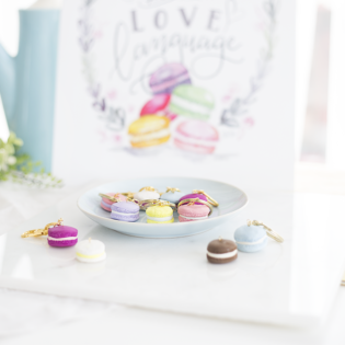 Make This DIY Mini Macaron Keychain
