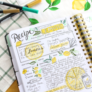 Preserved Lemons – Keepsake Kitchen Diary Recipe