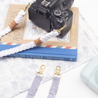 How to Make a DIY Camera Strap – Two Ways!