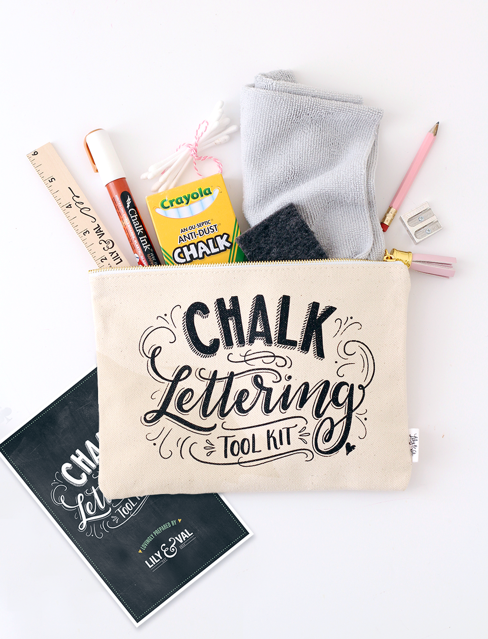 Chalk Lettering Tool Kit: Winner of the Best New Product Award At National Stationery Show