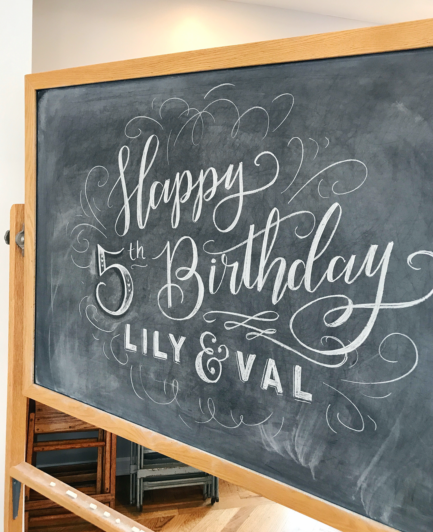 Lily & Val turns 5 today! Thank you for an amazing 5 years