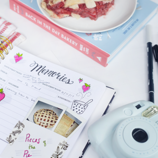 Crafting a Pocket for Your Keepsake Kitchen Diary