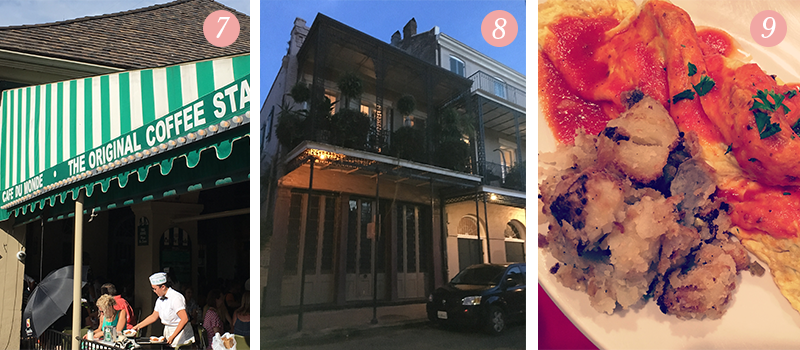 Lily & Val Presents: Pretty Ordinary Friday #61 with Cafe du Monde, beautiful historical buildings and polpetta