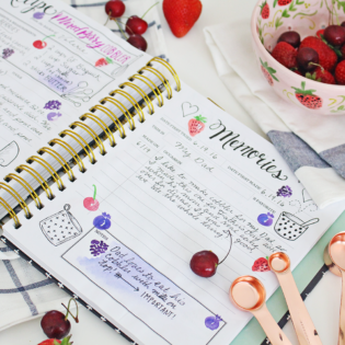 Embracing Imperfection In My Keepsake Kitchen Diary