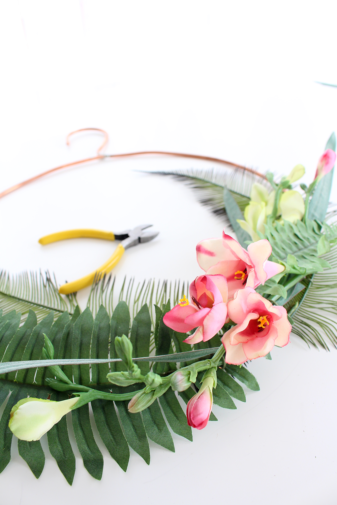 Summer Faux Floral Skills Workshop at the Lily & Val Flagship Store