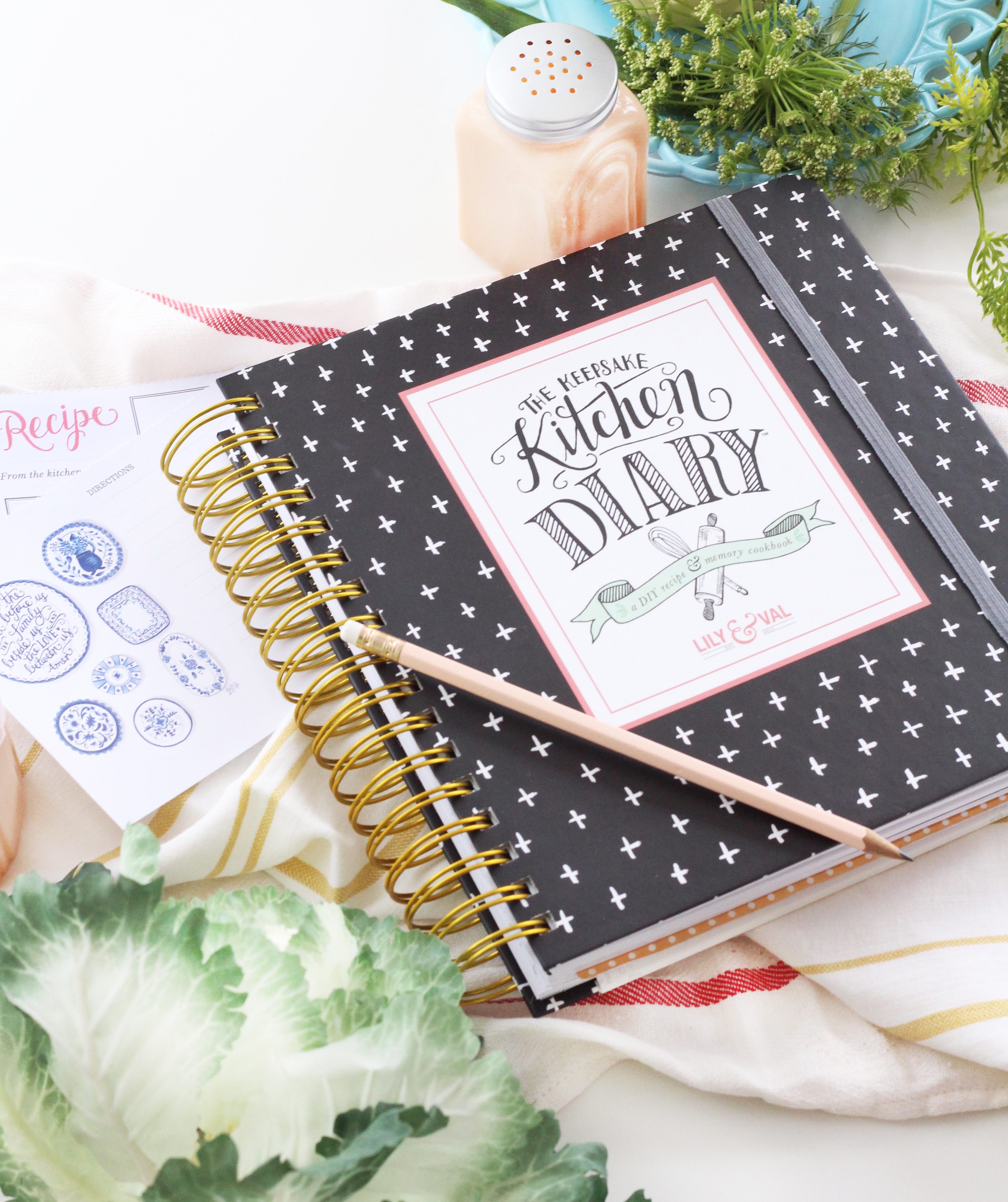 The Keepsake Kitchen Diary by Lily & Val: A family cookbook & memory keeper