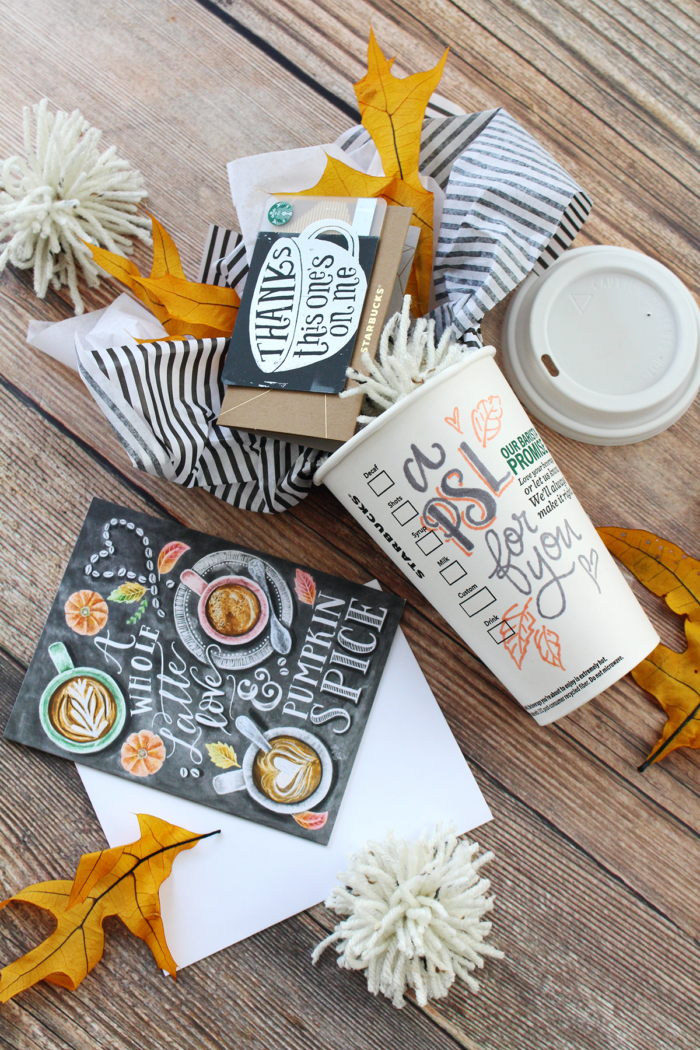 September Happy Mail Idea – Pumpkin Spice Lattes
