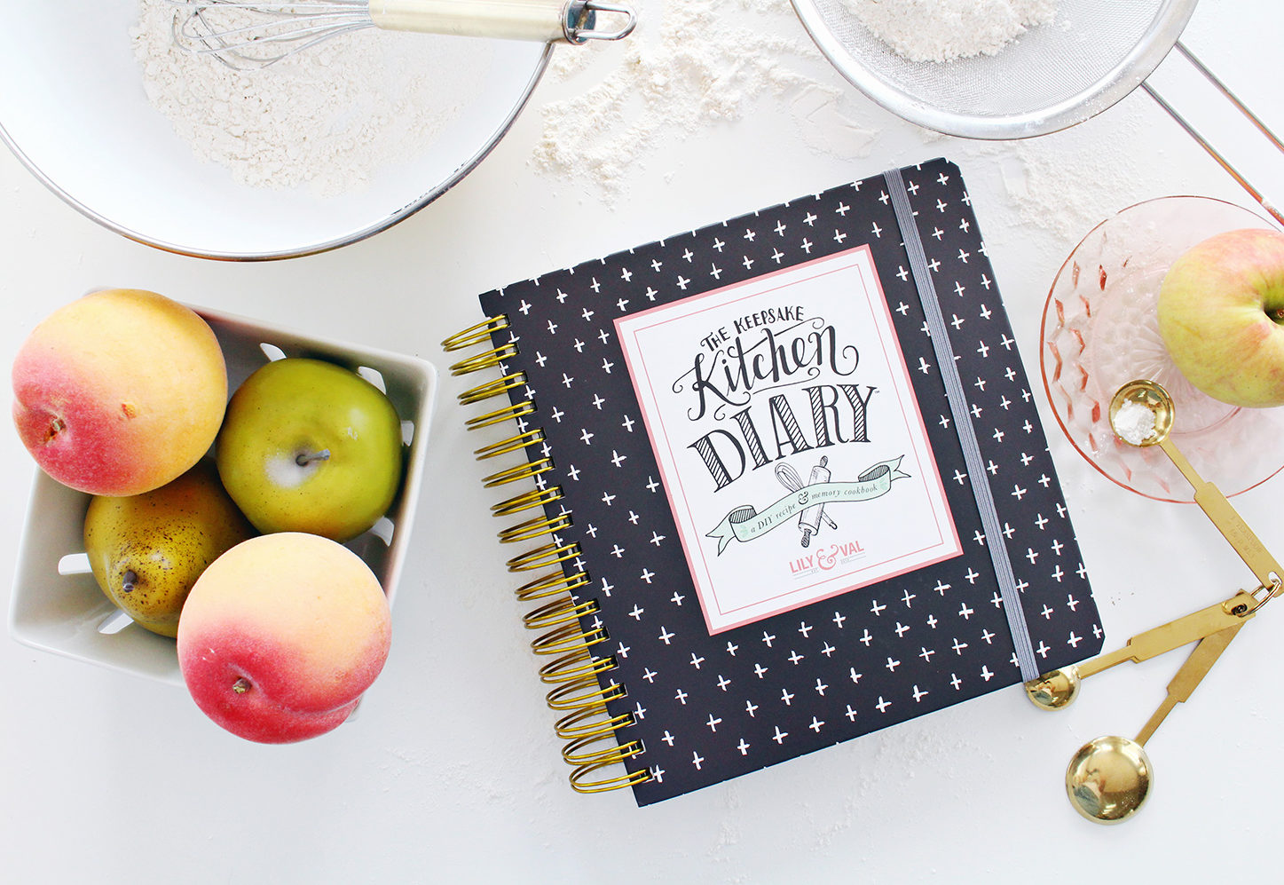 The Keepsake Kitchen Diary is a family recipe cookbook and memory keeper. Recipe Journal, recipe diary, family recipes