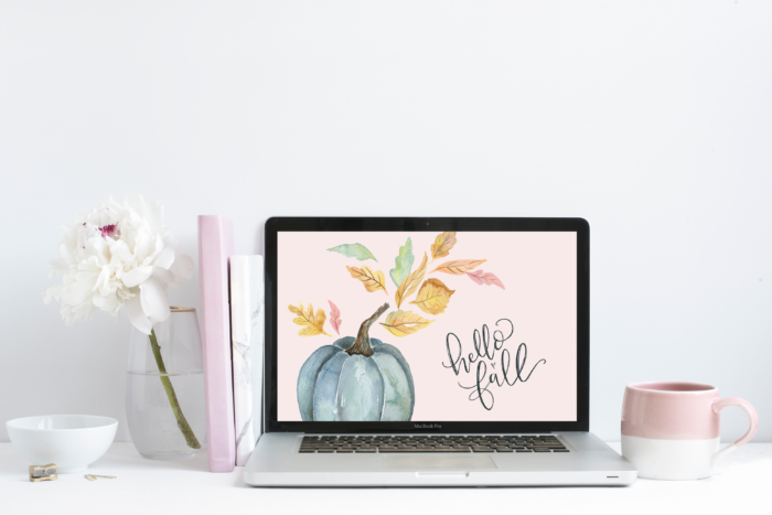 "September's ""Hello Fall"" Free Desktop Wallpaper Download"
