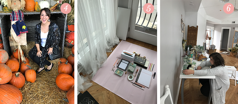 Lily & Val Presents: Pretty Ordinary Friday #69 with pumpkin patches, photo shoot for new paper products and photo shoot styling