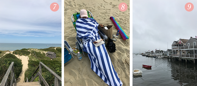 "Lily & Val Presents: Pretty Ordinary Friday #67 with Steps Beach in Nantucket, chilly beach days and good books, and rainy days in the ""Grey Lady."""