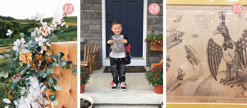 Lily & Val Presents: Pretty Ordinary Friday #67 with outdoor photo shoots with kids, first day of preschool and the Air Force Museum