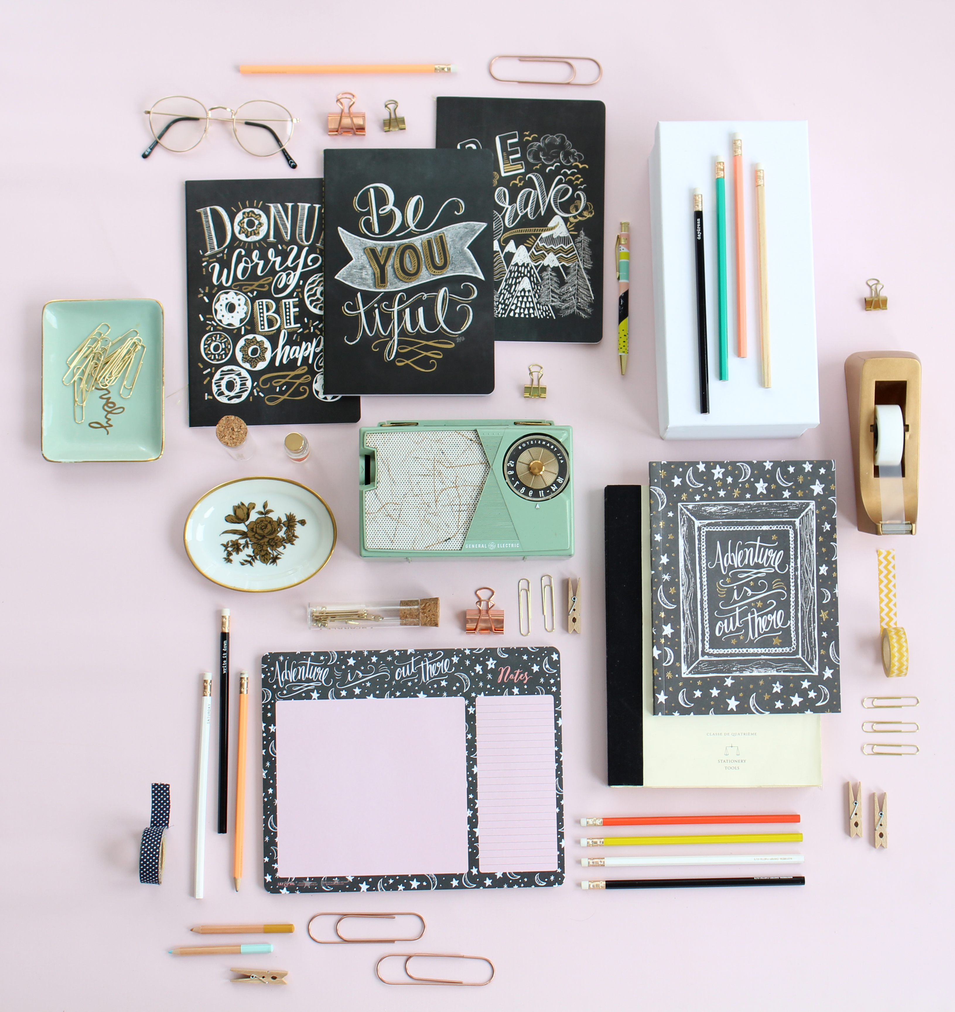 Lily & Val paper supplies, notepads, notebooks, journal, and agenda are here!