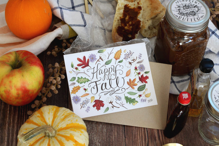 October Happy Mail Idea- Pumpkin Butter For Fall