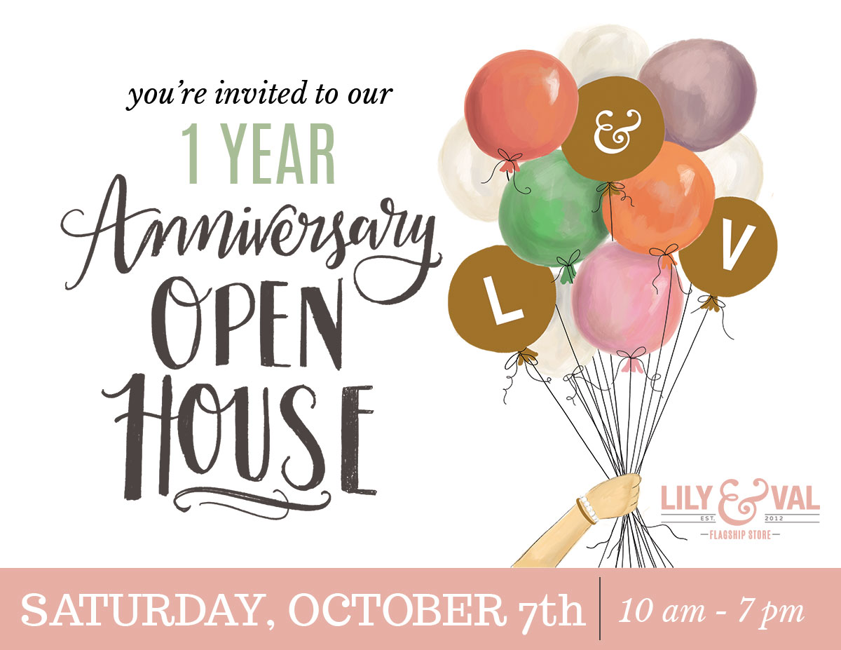 Lily & Val Flagship Store One Year Anniversary Open House Celebration