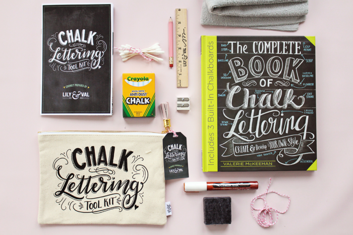 A Special Back to School Chalk Lettering Offer PLUS Lily & Val Desk Supplies Are Here!
