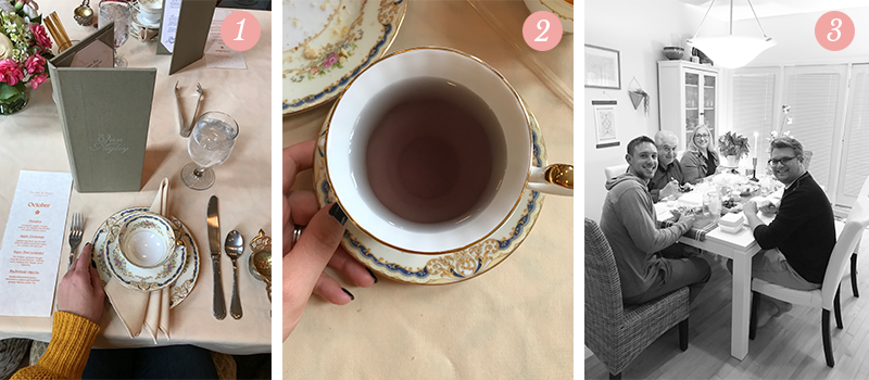 Lily & Val Presents: Pretty Ordinary Friday #74 with High Tea at the Inn on Negley, lavender tea and Valerie's favorite people