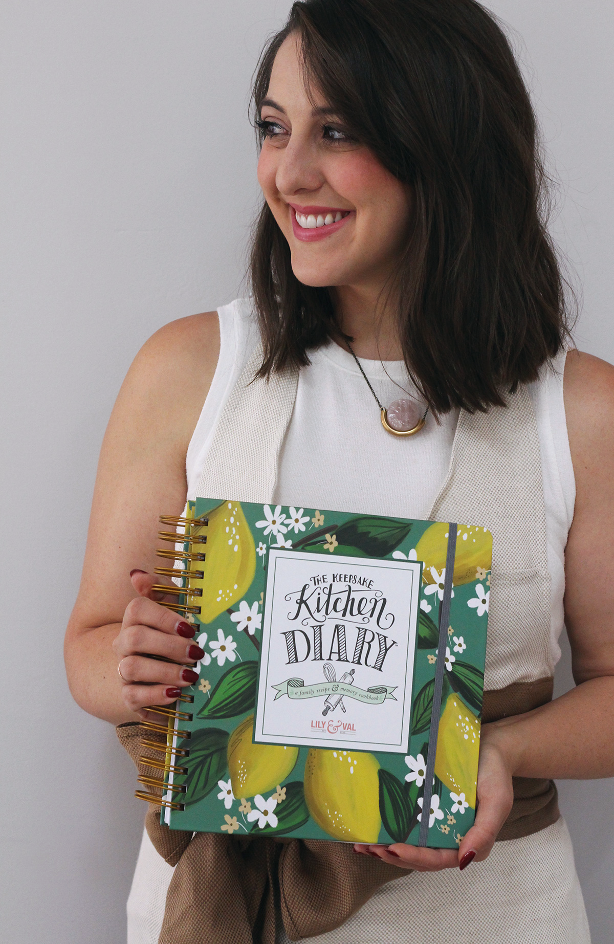 The best-selling Keepsake Kitchen Diary is now available in a new cover option- Whimsical Lemons!