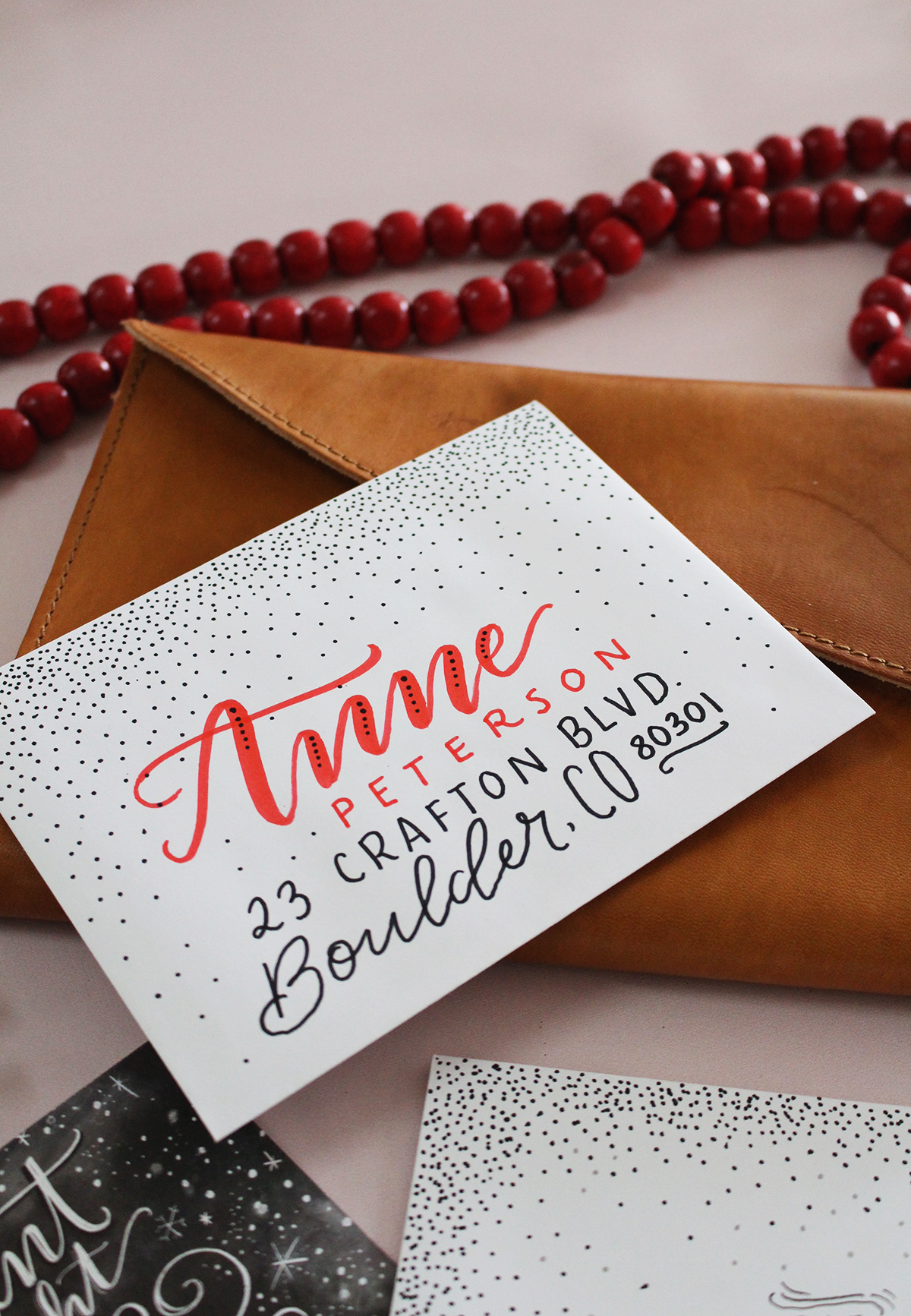 5 Holiday Card Envelope Decorating Ideas