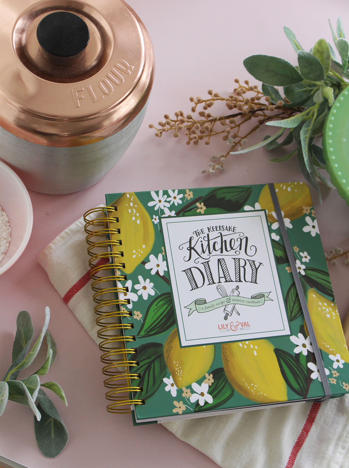 If you're not familiar with The Diary, it's the perfect way to preserve your favorite family recipes and the memories that go with them. This is certainly the perfect time of year to begin yours as many cherished recipes are sure to be shared!