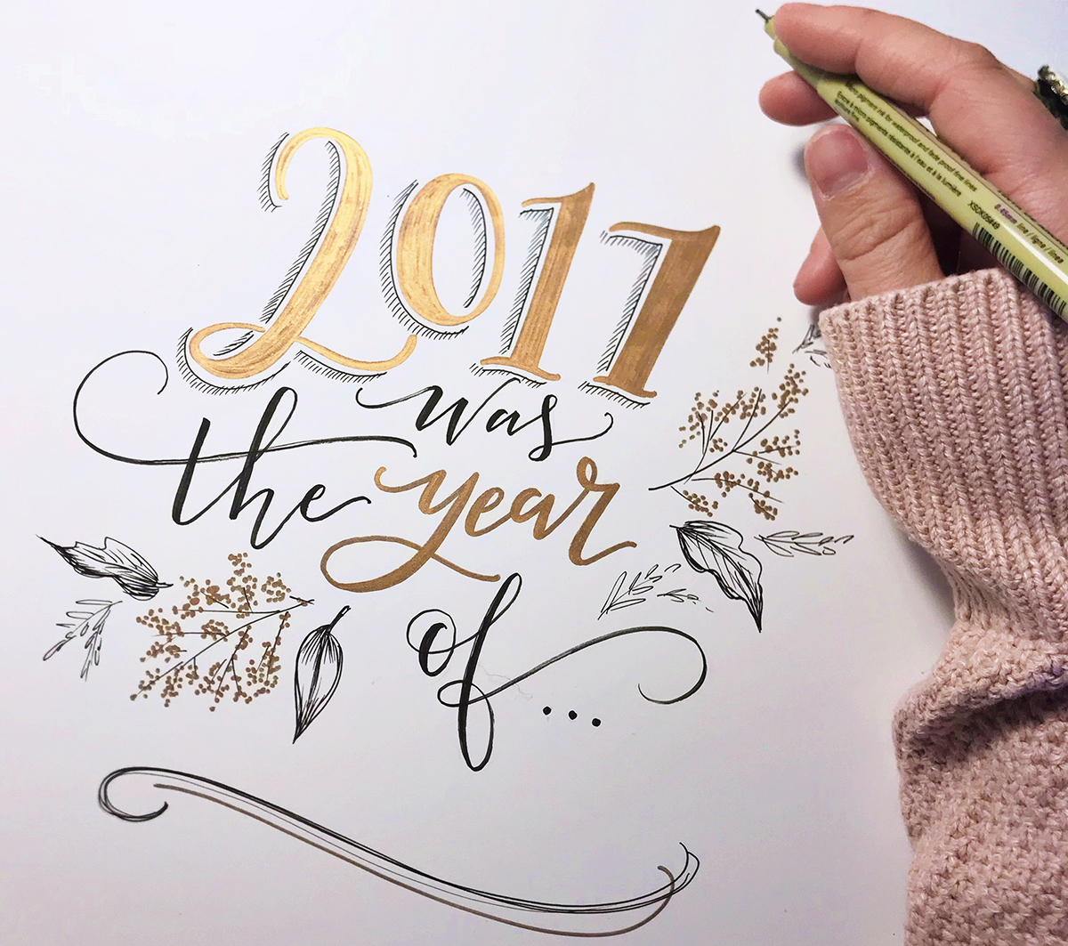 2017 Year in Review at Lily & Val