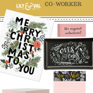 Lily & Val Gift Guide: Co-Worker