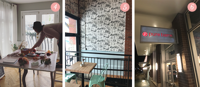 Lily & Val Presents: Pretty Ordinary Friday #84 with Emily's art, gorgeous black and white wallpaper and Pure Barre
