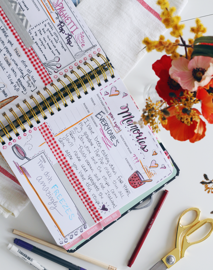 Keepsake Kitchen Diary Crafting Inspiration