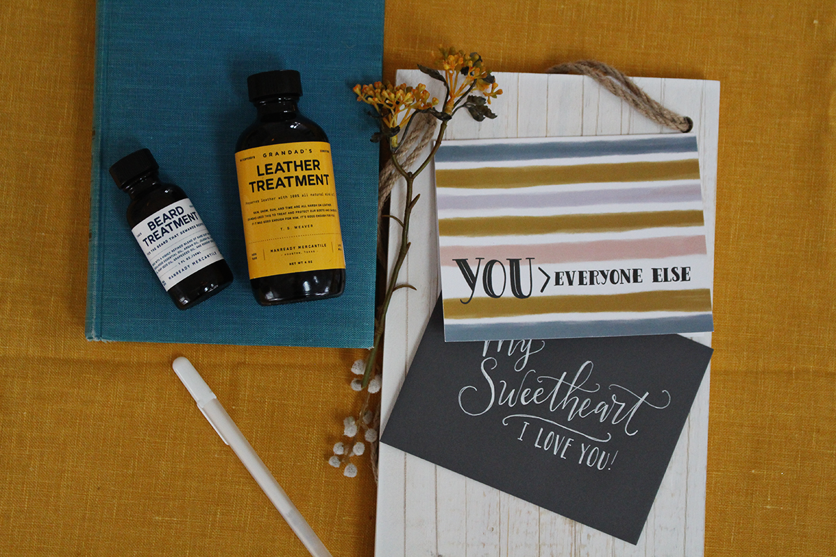 Happy Mail Idea - A Valentine For Him featuring Manready Mercantile Goods